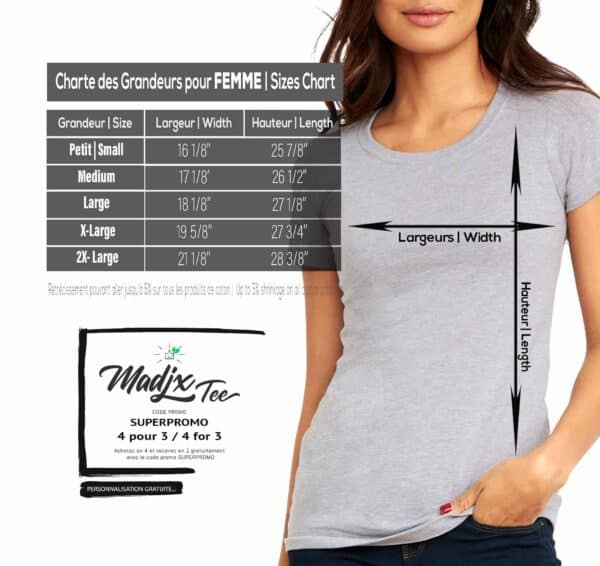 Quatre Plumes t-shirt pour femme, impression sérigraphie encre base à l'eau éco, impression fait au Québec 5