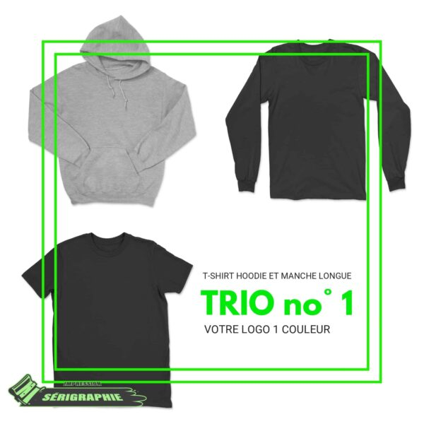 TRIO #1 pour 12 vêtements 1