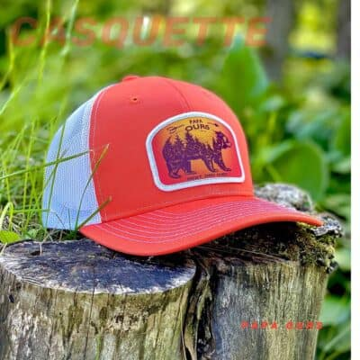 Casquette papa ours